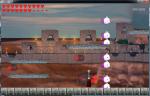 Screen shot of the boss fight