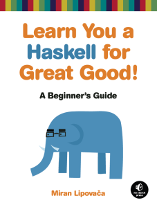 Learn You a Haskell cover