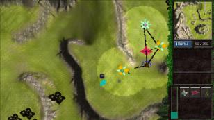 Second screenshot of tutorial map