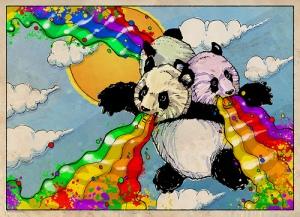 psychedelic-panda