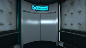 Portal hides most of its loading time in elevator sequences